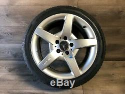 Mercedes Benz W209 Oem R171 Clk55 Amg Roue Slk55 Jante Et Le Pneu 245 40 17 Pouces