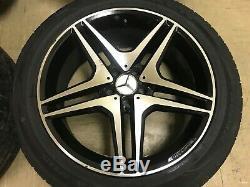 Mercedes Benz W251 W164 Oem R350 Ml63 Ml350 Ml500 R63 Amg Jante De Roue De Pneu Set 20