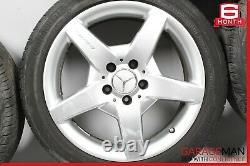 Mercedes R171 Slk350 Clk63 Amg R17 Sport Complete Wheel Tire Rim Décalé Set