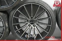 Mercedes S550 Cl550 Cls550 Décalé 10.5x9.0 Pneus Roue Jantes Ensemble De 4 R20