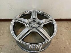 Mercedes W221 S63 S65 Cl63 S550 Cl550 Avant Amg 20 Chrome Wheel Rim Oem 8,5 X20