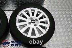 Mg Rover Mini R50 R56 Complet 4x Wheel Alloy Rim 15 6j Et45 Avec Pneus 185/55