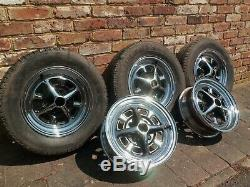 Mgb Chrome Roues Rostyle Ensemble Complet 5