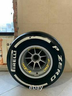 Nouveau Véritable Formule 1 F1 Oz Racing 13 Complete Wheel Rim Tire Slick Fia