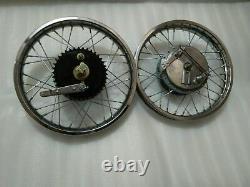Nouvel Ajustement Pour Royal Enfield Front And Rear Wheel Rim Complete 17 Inch 36 Spokes