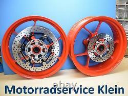 Original Aprilia Tuono V4 1000 1100 Rim Front & Rear Wheel Set Complete Wheels