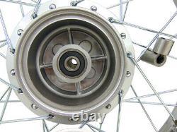 Pour Honda Crf100 Xr100 16 Complete Rear Rim Wheel Assembly Brakes & Sprocket