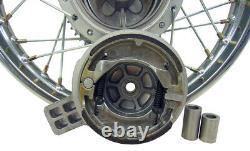 Pour Kawasaki 03-06 Klx 125 14 Freins D'assemblage Complets De Roues De Jantes Arrière