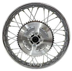 Pour Yamaha 02-up Ttr125 Ttr 125l 16 Complete Rear Rim Wheel Assembly Sprocket
