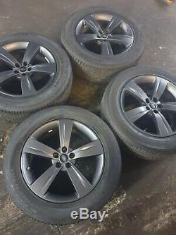 Range Rover Véritable Velar 19 Style 5046 Gris Roues En Alliage Set & Pneus Complets