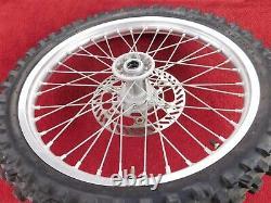 Rim Avant Complet Avec Rotor & Tire 99-02 Kx250 Kx125 Frt Roue Kx 125/250