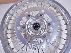 Rm-z250 -89 À 71811 / Z450 Rmz 250/450 Suzuki Billettes Complète 18 Roues Arrière Rim Hub
