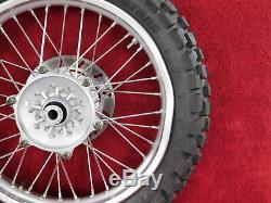 Roue Arrière Complète Avec Rotor Et Pneu 99-06 Assemblage De Roue Arrière Ttr250 Ttr 250