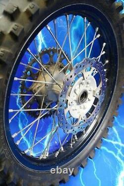 Roue Arrière Complète Kawasaki DID Hub Spoke Black Rim Kit Oem Stock Assembly 19
