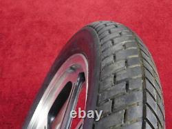 Roue Avant Complète Avec Tire & Rotor 90-96 En500 Vulcan 500 En500a Oem Frt Rim