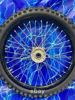 Roue Avant Complète Kawasaki DID Hub Spoke Black Rim Kit Oem Stock Assembly Kx