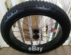 Roue Avant Vélo Complet Vélo Fat Bike + Pneu 26 X 4 Coyote Mtraxx Honda Cup