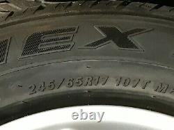 Roue Bmw X5 E53 Oem Jante Et Le Pneu Jantes Set 245 65 17 Pouces 17 2000-2006