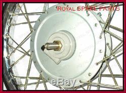 Royal Enfield Rim Roue Avant Complète 19 Pouces