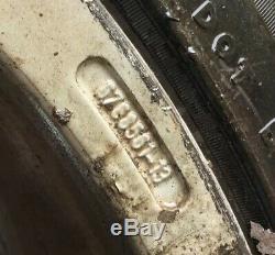Série Complète Authentique De Bmw E81 / 87 1 Série De 18 Roues Et Pneus En Alliage De Jante Fendue