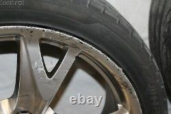 Série Complète De Pneus Nissan 370z Z34 2009 #181 Touring 19 Roues
