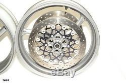 Suzuki Gsxr 750 2011 Oem Gsxr 600 750 Roues Complètes Avant Et Arrière Oem Jantes Rotors