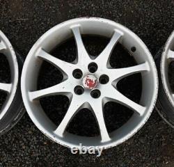 Toyota Celica T Sport Roues Oem 17 5x100pcd 5 Roues Ensemble Complet