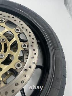 Triumph Tigre 1050 2007-2012 Roue Avant Rim, Complète Avec Disques