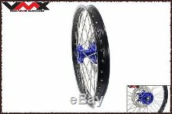 VMX 21/18 Jeu Complet De Jantes Pour Roues Enduro Pour Yamaha Wr250f 01-19 Wr450f 03-18