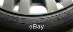 Vauxhall Astra J Complete 20 Spoke Roues En Alliage Set 215/50 / R17 Refm4