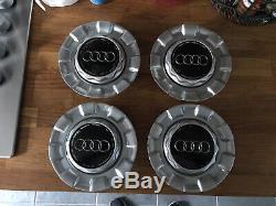 Véritable Bbs Rsii Audi A6 4b A4 A8 Tt Mk1 Roue Centre Cap Completefull Setx4