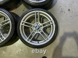Véritable Bmw 19 M Sport 313 Alloy Wheels And Tyres Set Complete Chrome