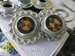 Véritable Bmw E30 Bbs Rare Caps Complets X 4 Pour 14 Roues Bbs, Gaufres Costume Rs