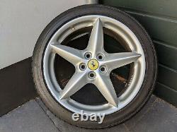 Véritable Ferrari 360 Oem (bbs) Roues Rims Ensemble Complet (7.5jx18 & 10jx18)