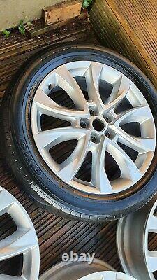 Véritable Mazda 6 / Cx-5 Ensemble Complet De 4 19 Roues En Alliage 19x7j Et 50