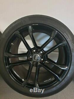 Véritable Oem 19 R8 Roues Jantes Alliages Complet Avec R8 S3 Audi A4 De Tpms