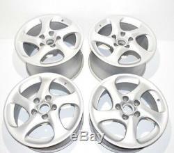 Véritable Porsche 996 C4s / Turbo Complet Solide Spoke Wheel Set 99636214210 Used