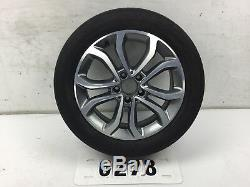 Véritable Roue En Alliage Mercedes Classe C 17 N ° De Pièce = A2054010200