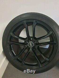 Véritables Roues Oem 19 R8 Alliages Jantes Complètes Avec Capteurs Tpms Audi R8 S3 A4