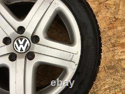 Vw 2004-2010 Touareg Rim Wheel 19 275/45 Zr 19 Avec Tire #1 Oem 109k