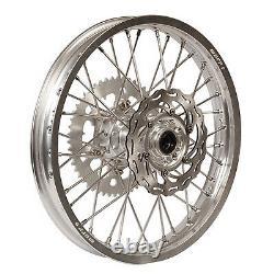 Warp 9 Complete Wheel Kit Arrière 19 X 2.15 Silver Rim/silver Hub/silver
