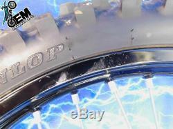 Yamaha Complet Avant Noir Excel De Moyeu De Roue Pneu Jante Oem