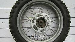 Yamaha Xt 125 R 2005 Roue Arrière 18 Complète 140/80-18