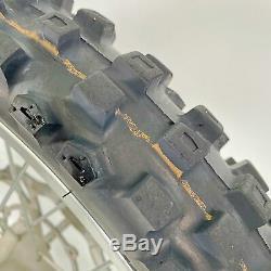 Yamaha Yz85 Yz 85 Complet Jantes Roues Arrière Avant Avec Pneus Rotors Sprocket