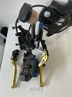 Yamaha Yzf-r1 4xv 5jj Front Brake Calipers & Master Cylinder Complete